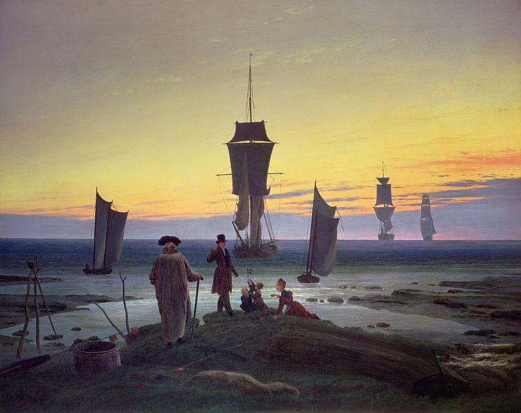 Die Lebensstufen, Caspar David Friedrich von Bridgeman Masters