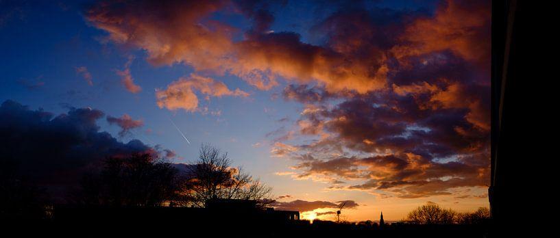 Amersfoort sunset sur Sjoerd Mouissie
