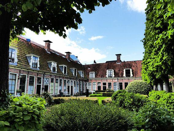 het hofje Pepergasthuis in Groningen