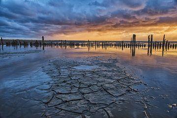 Friesiesche Wattenküste von Remco de Vries