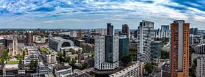 Panorama centrum Rotterdam