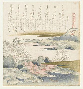 Brokatmuschel, Katsushika Hokusai, 1821