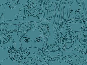 Die Kaffeetrinker