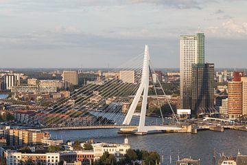 Le Pont Erasmus à Rotterdam sur MS Fotografie | Marc van der Stelt