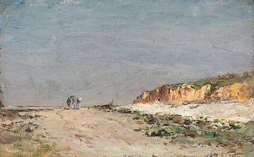 Carlos de Haes-Weg landschap naar het strand, Antiek landschap