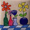 Vaasjes op tafel van Angelique van 't Riet thumbnail