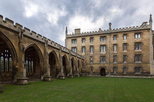 St John's College Cambridge van