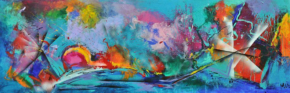 Abstract Visioen van Kunstenares Mir Mirthe Kolkman van der Klip