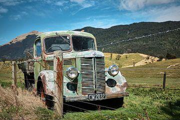 Truck met pensioen von Wim van Berlo