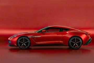 Aston Martin Vanquish Zagato, britischer Sportwagen von Gert Hilbink