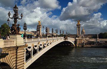 Brücke Alexandre III in Paris von Jan Kranendonk