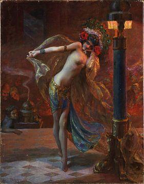 Tanz der sieben Schleier, Gaston Bussière, 1925 von Atelier Liesjes