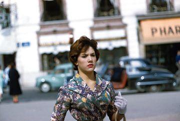 Séance photo vintage des années 60 sur Jaap Ros