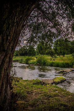 rivier met stenen van Niels Aben