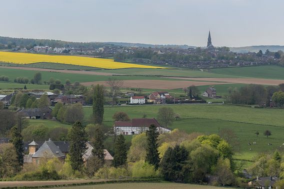 Limburgs landschap rond Vijlen van John Kreukniet
