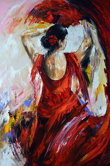 Flamenco van Gena Theheartofart