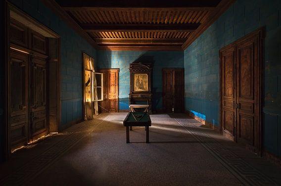 Verlaten Kamer in Kasteel. van Roman Robroek