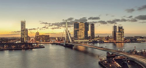 Rotterdam à l'aube