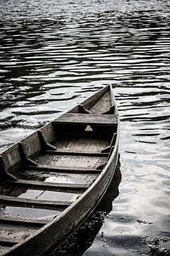 Bootje in de Dordogne von Wybrich Warns
