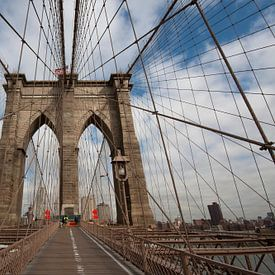Brooklyn Bridge van Dennis Wierenga