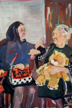Spanische alte Damen