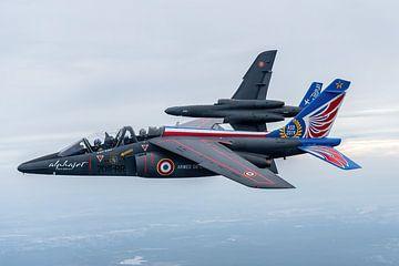 AIR TO AIR above Belgium. French Air Force. van Patrick Vercauteren