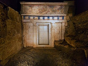 Tombe royale de Philippe II (359-336 av. J.-C.) sur Konstantinos Lagos