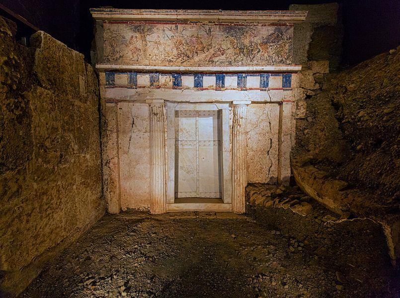 Koninklijk graf van Filips II (359-336 v. Chr.) van Konstantinos Lagos