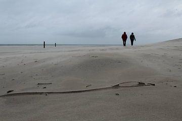 Spaziergang am Meer von Mathilde Witteveen