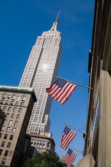 New York Empire State Building van Jean-Paul Wagemakers