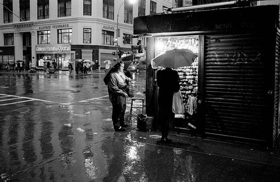 New York - De laatste klant