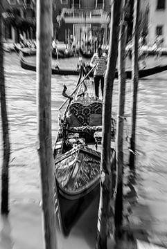 Venedigs Gondeln von Tom River Art
