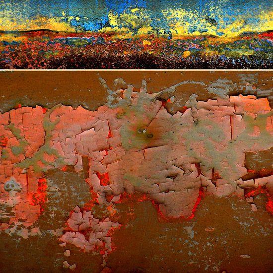 Abstract Landschap