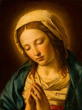 Betende Madonna, nach Giovanni Battista Salvi