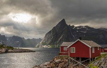 Sonnenuntergang Lofoten Norwegen von Marcel Kerdijk