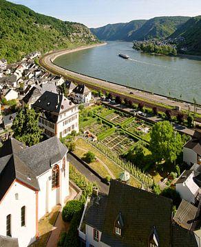Probsteigarten Hirzenach im Mittelrheintal von Ingo Fischer
