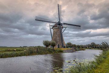 Boezemmolen No. 6 - Haastrecht (NL) van Mart Houtman
