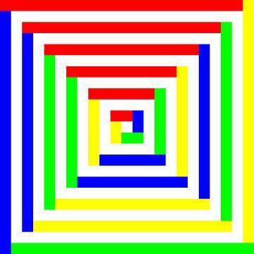 Permutatie | ID=23 | V=04 | 6 van 6 | BGYBGY | P #01 van Gerhard Haberern