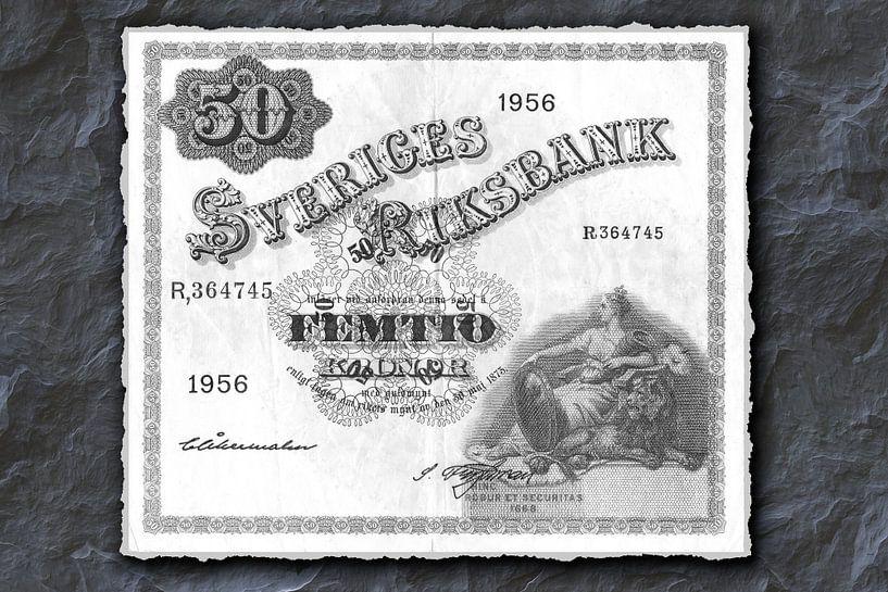 50 Schwedische Kronen von Leopold Brix