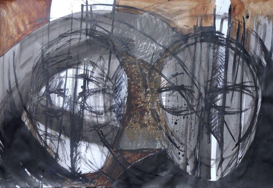 twee hoofden van Erik Mol
