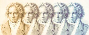 De Vijfde van Beethoven, Ludwig van Beethoven van Gert Hilbink