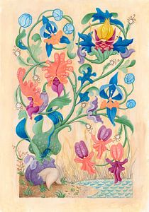 Flora manuscriptum van Anouk Maria van Deursen