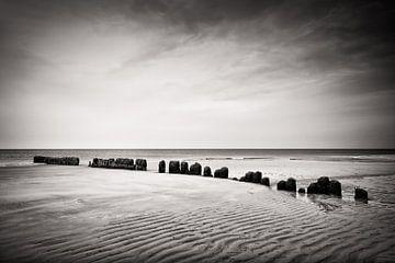 Zwart-witfotografie: Sylt van Alexander Voss