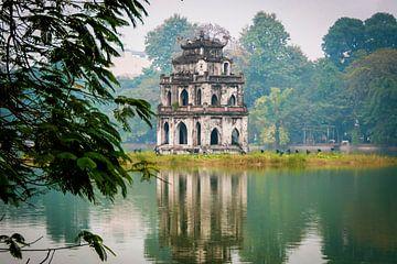 Mystieke toren, mystical tower van Corrine Ponsen