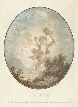 Ausschweifungen, Jean François Janinet, 1777 von Atelier Liesjes