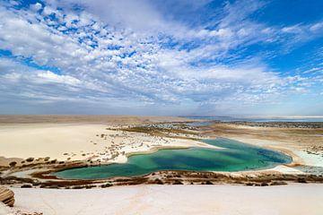 Egypte: Een Meer in de Woestijn van The Book of Wandering