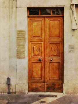 Doors serie - Italia 2 van Joost Hogervorst