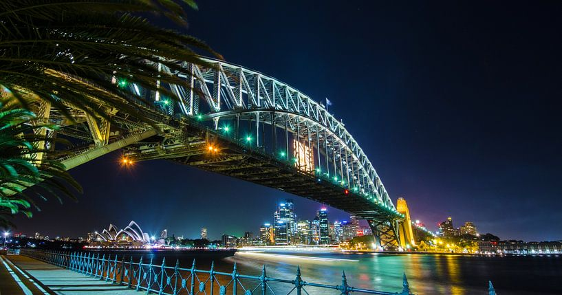 Sydney Skyline from Milsons Point van Ricardo Bouman