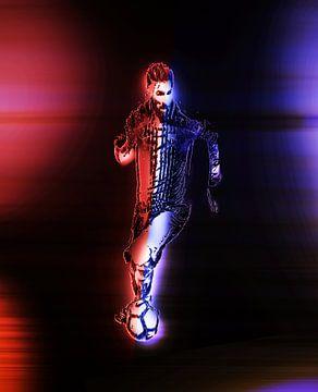 La Pulga Messi van Mars Ruis
