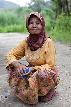 Sumatraanse vrouw van Kees van Dun